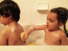 Rub a dub in the tub