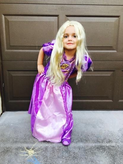 As Rapunzel